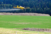Telem Aviation Ayres SR2-T45 Turbo Thrush crop dusting. Photographed in Israel