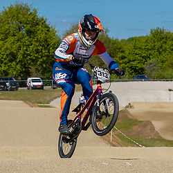 05-05-2020: Wielrennen: BMX KNWU: Papendal<br />Niek Kimman