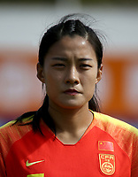 International Women's Friendly Matchs 2019 / <br /> Womens's Algarve Cup Tournament 2019 - <br /> China v Norway 1-3 ( Municipal Stadium - Albufeira,Portugal ) - <br /> LIU SHANSHAN of China