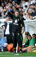 Hartlepool - Saturday August 29th, 2009: Norwich City manager Paul Lambert during the Coca Cola League One match at Victoria Park, Hartlepool. (Pic by Jed Wee/Focus Images)..