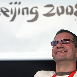 20080820: Olympics - Isakovic and Debevec in BTC Ljubljana