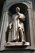 Niccolò Machiavelli (3 May 1469 – 21 June 1527) Italian philosopher and writer, considered one of the main founders of modern political science.  In 1498, after the ouster and execution of Girolamo Savonarola, the Great Council elected Machiavelli as Secretary