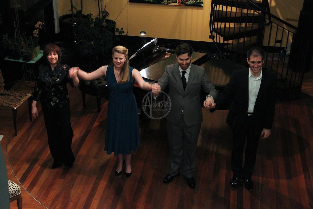 Seattle Opera Young Artist Program Salon Recital featuring Sarah Larsen, Jason Slayden & Michael Uloth.