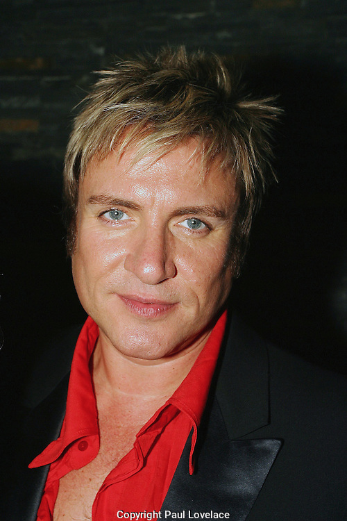 "DURAN DURAN LAUNCH THEIR NEW ALBUM ""ASTRONAUT"", SYDNEY, AUSTRALIA 23rd AUGUST 2004-duran duran..simon le bon.PICS : PAUL LOVELACE"