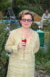 Actress IMELDA STAUNTON at a party to celebrate FilmFour becoming the UK's first major free film channel held at Debenham House, Addison Road, London on 20th July 2006.<br />