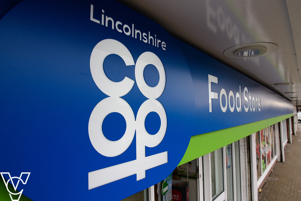 Lincolnshire Co-operative food store sign.<br /> <br /> Picture: Chris Vaughan Photography for Lincolnshire Co-op<br /> Date: March 24<br /> 7, 2017