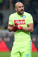 can - 20.01.2017 - Milano - Serie A 2016/17 - 21a giornata  -  Milan-Napoli  nella  foto: Pepe Reina