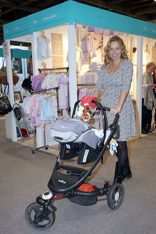 London, England, UK : 19th Feb 2016 :  'A Place in the Sun' presenter, Jasmine Harman attend the Baby Show 2016 at Excel London. Photo by See Li