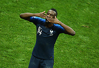 Blaise Matuidi (France) greeting the family before the award ceremony<br /> Celebration Victory France <br /> Moscow 15-07-2018 Football FIFA World Cup Russia  2018 Final / Finale <br /> France - Croatia / Francia - Croazia <br /> Foto Matteo Ciambelli/Insidefoto
