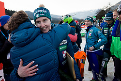 Retirement of Eva Logar and Katja Pozun after FIS Ski Jumping World Cup Ladies Ljubno 2018, on January 27, 2018 in Ljubno ob Savinji, Slovenia. Photo by Urban Urbanc / Sportida
