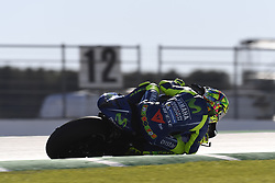 November 10, 2017 - Valencia, Valencia, Spain - 46 Valentino Rossi (Italian) Movistar Yamaha Motogp Yamaha during free practice at the Gran Premio Motul de la Comunitat Valenciana, Circuit of Ricardo Tormo,Valencia, Spain. Friday 10th of november 2017. (Credit Image: © Jose Breton/NurPhoto via ZUMA Press)