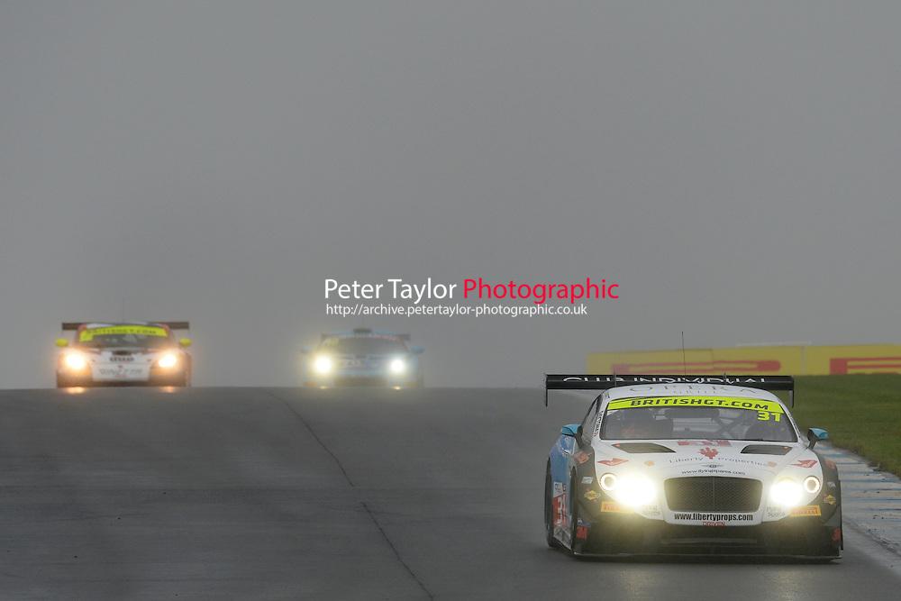 Rick Parfitt, Jr (GBR) / Seb Morris (GBR)  #31 Team Parker Racing  Bentley Continental GT3  Bentley 4.0L Turbo V8. British GT Championship at Donington Park, Melbourne, Leicestershire, United Kingdom. September 10 2016. World Copyright Peter Taylor/PSP.