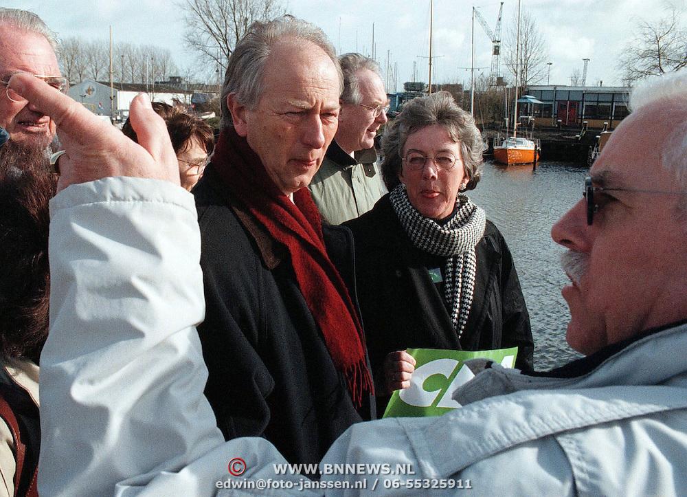 Bob Verburg CDA Provinciale Staten Noord Holland bezoekt Huizen