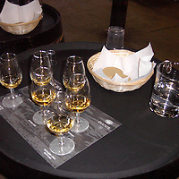Europe, United Kingdom, Scotland. Whisky Tasting in Islay, Scotland.