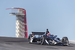 February 12, 2019 - Austin, Texas, U.S. - ED JONES (20) of The United Emerates goes through the turns during practice for the IndyCar Spring Test at Circuit Of The Americas in Austin, Texas. (Credit Image: © Walter G Arce Sr Asp Inc/ASP)
