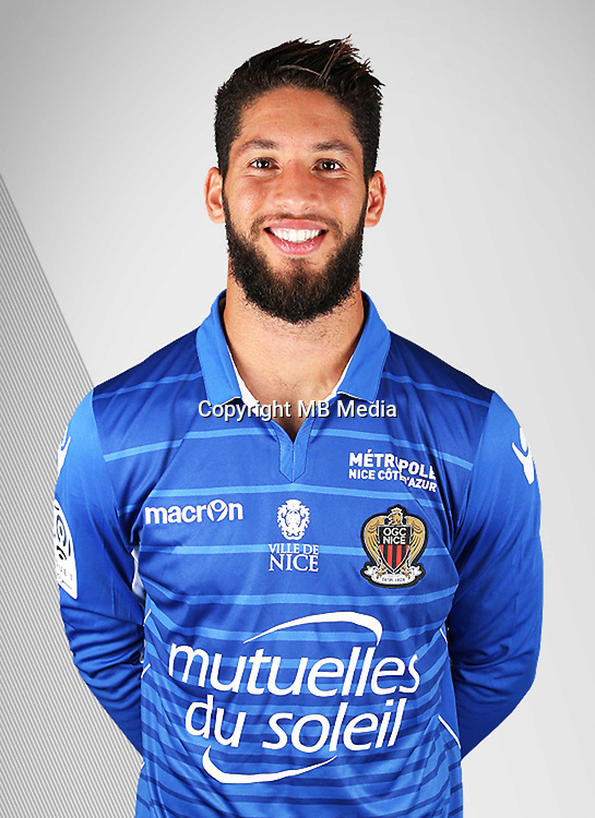 Mouez Hassen during the photocall of Nice on 10th September 2016<br /> Photo : Nice / Icon Sport