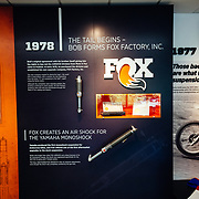 The history of when Fox Factory Racing officially began in 1978.