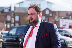 March 9, 2019 - Nottingham, England, United Kingdom - Nottingham forest owner Evangelos Marinakis arrivers during the Sky Bet Championship match between Nottingham Forest and Hull City at the City Ground, Nottingham on Saturday 9th March 2019. (Credit Image: © Jon Hobley/NurPhoto via ZUMA Press)