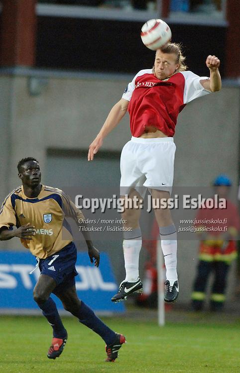 Sampsa Timoska, MyPa.&amp;#xA;2005.&amp;#xA;Uefa-cupin karsinta vs Grasshoppers.&amp;#xA;Photo: Jussi Eskola<br />