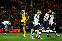 Olivier Giroud of Arsenal looks dejected - Mandatory by-line: Matt McNulty/JMP - 07/01/2017 - FOOTBALL - Deepdale - Preston, England - Preston North End v Arsenal - Emirates FA Cup third round