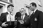 1967 - Blackrock RFC press conference to announce 2nd Annual Festival of Rugby