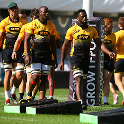 Siya Kolisi during the Field training at Growthpoint Kings Durban,South Africa. 15th June 2017(Photo by Steve Haag)