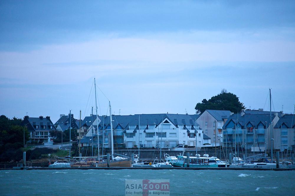 Lever du Jour sur Etel dans le Morbihan