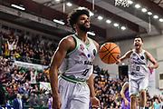 Dwayne Evans<br /> Banco di Sardegna Dinamo Sassari - San Pablo Burgos<br /> Round of 16 Gara 1<br /> FIBA BCL Basketball Champions League 2019-20<br /> Sassari, 04/03/2020<br /> Foto L.Canu / Ciamillo-Castoria