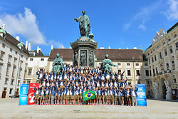 18.07.2016, Hofburg, Wien, AUT, Olympia, Rio 2016, Verabschiedung OeOC, im Bild Team // during the farewell of the Austrian National Olympic Committee for Rio 2016 at the Hofburg in Wien, Austria on 2016/07/18. EXPA Pictures © 2016, PhotoCredit: EXPA/ Erich Spiess