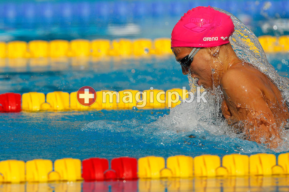 Yuliya EFIMOVA of Russia competes in the women's 50m Breaststroke Heats at the European Swimming Championship at the Hajos Alfred Swimming complex in Budapest, Hungary, Saturday, Aug. 14, 2010. (Photo by Patrick B. Kraemer / MAGICPBK)