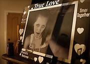 A photo of Jerrica Christensen sits near the front door of her mother, Ellen Hensley's Leeds home, Thursday, Dec. 6, 2012.