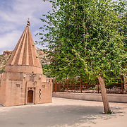 One of the numeorous Yazidi shrine in Bahzani
