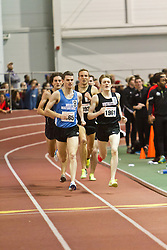 Boston University Terrier Invitational Indoor Track Meet: Julian Matthews, David McCarthy, Riley Masters, Eric Jenkins, Mens Elite Mile