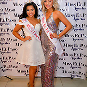2017 Miss El Paso Teen Destiny Velasquez  (left) and Lauren Silverthorn (right) at the 2018 Miss El Paso America Beauty Pageant, El Paso Texas March 3, 2018 , Andres Acosta / El Paso Herald-Post
