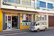 Street scene in central Port Vila, Vanuatu.