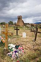 Taos Pueblo Cemetery and Mission Church of San Geronimo de Taos Ruins, New Mexico