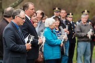 The Orange County Crime Victim's Vigil was held at the Orange County Arboretum in Thomas Bull Memorial Park on April 22, 2015. The ceremony honored and remembered victims and survivors of crime. The event was organized by the Orange County Coalition for Crime Victims' Rights.