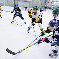 1st year forward Merissa Zerr (24) of the Regina Cougars in action during the Women's Hockey Homeopener on October 7 at Co-operators arena. Credit: Arthur Ward/Arthur Images