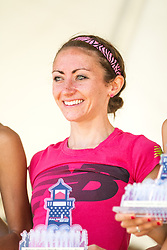 41st Falmouth Road Race: Frances Koons