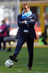 """Foto Filippo Rubin<br /> 26/03/2017 Ferrara (Italia)<br /> Sport Calcio<br /> Spal vs Frosinone - Campionato di calcio Serie B ConTe.it 2016/2017 - Stadio """"Paolo Mazza""""<br /> Nella foto: LEONARDO SEMPLICI<br /> <br /> Photo Filippo Rubin<br /> March 26, 2017 Ferrara (Italy)<br /> Sport Soccer<br /> Spal vs Frosinone - Italian Football Championship League B ConTe.it 2016/2017 - """"Paolo Mazza"""" Stadium <br /> In the pic: LEONARDO SEMPLICI"""