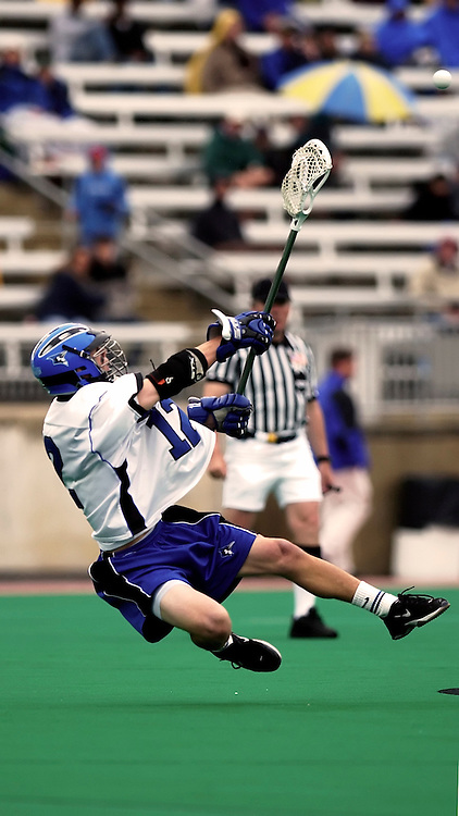 18 May 2003: Chris Whipple of the Johns Hopkins Blue Jays during the Blue Jay's 14-6 win over the Towson Tigers in NCAA Lacrosse Quarterfinal action at Towson University in Towson, MD.