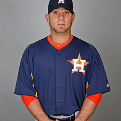 Feb 21, 2013; Kissimmee, FL, USA; Houston Astros infielder Jose Martinez during photo day at Osceola County Stadium. Mandatory Credit: Derick E. Hingle-USA TODAY Sports