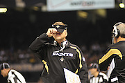 NFL Saints Cowboys Saturday Dec. 19, 2009 in New Orleans Louisiana at. Saints lost to the Cowboys 24-17 and the Saints are now 13-1.Photo©Suzi Altman/Suzisnaps.com