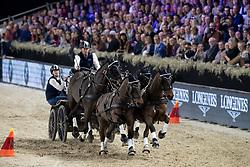 Exell Boyd, AUS, Bajnok, Barny, Demi, Rocket<br /> Vlaanderens Kerstjumping - Memorial Eric Wauters - Mechelen 2018<br /> © Hippo Foto - Dirk Caremans<br /> 31/12/2018