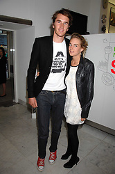 OTIS FERRY and FRANCESCA NEMMO at a reception hosted by Vogue magazine to launch photographer Tim Walker's book 'Pictures' sponsored by Nude, held at The Design Museum, Shad Thames, London SE1 on 8th May 2008.<br />
