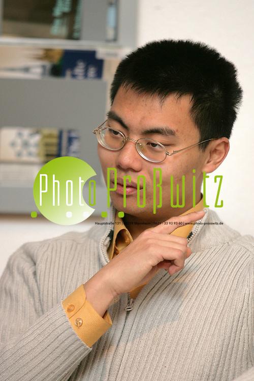 Mannheim. UNI. Student mittels Stipendium und Engagement bei der KAB<br /> <br /> Bild: Markus Pro&szlig;witz<br /> ++++ Archivbilder und weitere Motive finden Sie auch in unserem OnlineArchiv. www.masterpress.org ++++