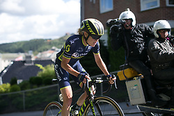 Rachel Neylan (AUS) of Orica Scott Cycling Team tries to catch Hocking on her own on Stage 3 of the Ladies Tour of Norway - a 156.6 km road race, between Svinesund (SE) and Halden on August 20, 2017, in Ostfold, Norway. (Photo by Balint Hamvas/Velofocus.com)