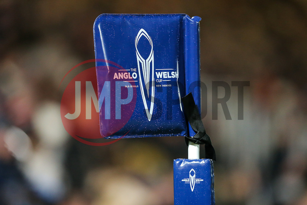 Branding - Rogan Thomson/JMP - 04/11/2016 - RUGBY UNION - Sixways Stadium - Worcester, England - Worcester Warriors v Bristol Rugby - The Anglo Welsh Cup.