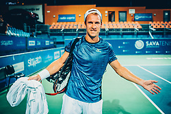 Grega Zemlja (SLO) at ATP Challenger Zavarovalnica Sava Slovenia Open 2017, on August 9, 2017 in Sports centre, Portoroz/Portorose, Slovenia. Photo by Vid Ponikvar / Sportida