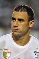 FOOTBALL - FRIENDLY GAME 2010 - ALGERIA v SERBIA - 03/03/2010 - PHOTO MOHAMED KADRI / DPPI - ABDELKADER GHEZZAL (ALG)
